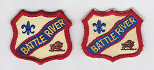 SCOUT OF CANADA - CANADIAN SCOUTS ALBERTA (ALTA) BATTLE RIVER DISTRICT Patch