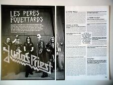 COUPURE DE PRESSE-CLIPPING :  JUDAS PRIEST [4pages] 02/2005 K.K.Downing,Angel Of
