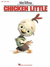"DISNEY MOVIE ""CHICKEN LITTLE"" PIANO/VOCAL/GUITAR MUSIC BOOK-BRAND NEW ON SALE!!"