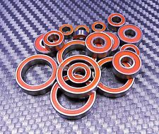 [ORANGE] FOR TAMIYA 58624 Mazda Miata MX-5 Rubber Ball Bearing Bearings M05 M-05