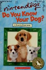 Nintendogs: Do You Know Your Dog?, Scholastic, 0439895839, Book, Acceptable