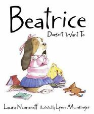 Beatrice Doesn't Want To-ExLibrary
