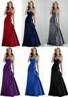 2016 Sexy evening prom bridesmaid dress Party Gown Stock Size 6 8 10 12 14 16