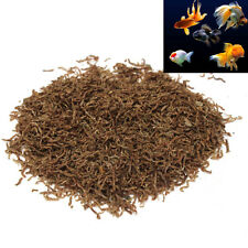 12g 0.42oz Freeze Dried Blood Worm Fresh Tropical Fish Discus Tetra Food Feeding