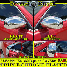 2007-2011 TOYOTA CAMRY FULL Chrome Mirror Covers Overlays Trims