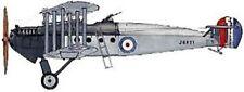 Avro 549 Aldershot WW1 Bomber Aircraft Mahogany Kiln Dry Wood Model Small New
