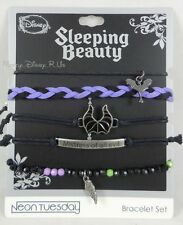 New Disney Sleeping Beauty Maleficent Arm Party Bracelet Set Mistress Of Evil