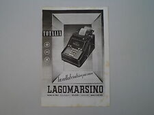 advertising Pubblicità 1941 TOTALIA LAGOMARSINO