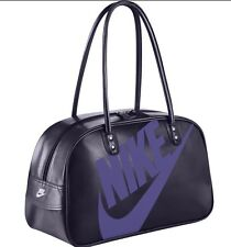 NIKE HERITAGE SHOULDER BAG GYM SI NEW FASHION MSRP $90.00 BA4269 524 PURPLE