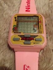 PINK ZELDA NELSONIC Game Watch, MINT, Working W/BATTERIES