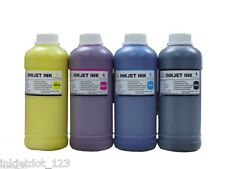 Water Resistant Pigment Refill Ink 4 Epson Refillable cartridge CISS CIS 4x500ml