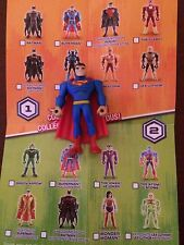 CARTOON NETWORK DC JUSTICE LEAGUE ACTION MIGHTY MINIS SUPERMAN S1 LOOSE UNUSED