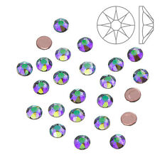 Swarovski Hotfix 2078 Crystal Flatbacks Paradise Shine SS16 - Pack of 24 (K64/3)