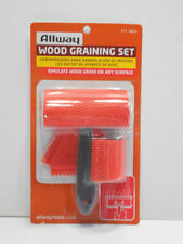 High Quality Wood Graining Kit Set, by Allway Tools #GT3 same day shipping