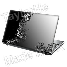 "15,6 ""Laptop Skin Sticker Decal Gris vides Vintage 236"