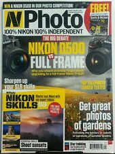 N Photo UK Sept 2016 Nikon D500 vs Full Frame Photos of Gardens FREE SHIPPING sb