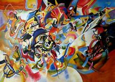 Wassily Kandinsky Composition VII Oil Painting repro