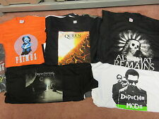 NEW - 30 DIFFERENT MENS + 5 BONUS WHOLESALE LOT CONCERT MUSIC BAND T-SHIRT S-2XL
