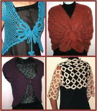 4 Most Popular Crochet and Knitting Shrug Patterns