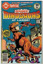 DC SPECIAL #27 1977 DINOSAURS AT LARGE DC BRONZE AGE GIANT 52 PAGES FINE!
