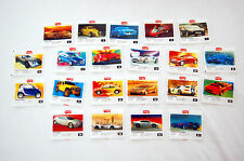 Konvoy Mertsan Collection of 21 pieces Gum Wrapper Not Turbo