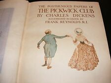 THE PICKWICK PAPERS BY CHARLES DICKENS IN VERY GOOD CONDITION (HARDBACK BOOK)