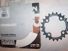 NEW Stronglight CT2 Ceramic-Teflon Chainring // 22T, 64mm BCD, 9/10 Speed