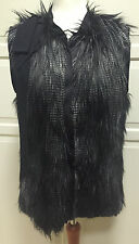 Lanvin for H&M Luxuriöse Weste Fellweste Fake fur Gr. EUR 36 size US 6 UK 10 NEW