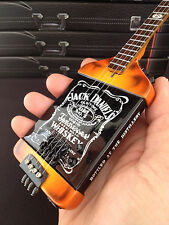 Officially Licensed Michael Anthony Van Halen ChickenFoot Jack Daniels Mini Bass