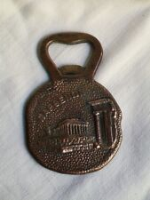 "COLLECTIBLE Greek ""ΠΑΡΘΕΝΩΝ"" Copper Bottle Opener made in Greece"