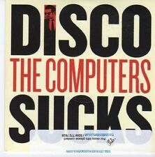 (DZ991) The Computers, Disco Sucks - 2013 DJ CD