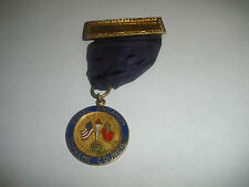 Rare Vintage Royal Arcanum Supreme Council Medal Quebec Canada Freemasons