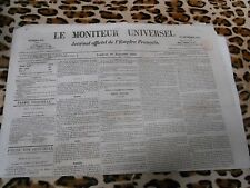 LE MONITEUR UNIVERSEL, journal officiel de l'empire français, n° 330, 26/11/1858