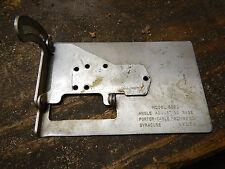 VINTAGE PORTER CABLE 5021 TILT BASE FOR 152 OLDER 548 JIG SCROLL SABER SAWS