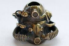 Fallout Helmet Bronze Bead for Knife Paracord Lanyard Post-Apocalypse