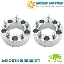 """2 Wheel Spacers Adapters 5x4.75 2""""   12x1.5 Studs For Chevy Camaro Corvette S10"""