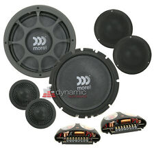 "Morel Virtus Nano 603 Car 6.5"" 3-Way Shallow-Mount Component Speaker System"