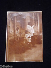 PHOTO Ancienne PROCESSION RELIGIEUSE Enfant de coeur Curé /Vintage Photography