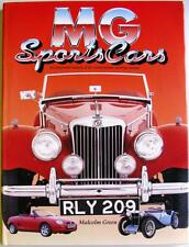 MG SPORTS CARS AN ILLUSTRATED HISTORY OF THE WORLD-FAMOUS SPORTING MARQUE BOOK