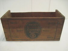 OLD VINTAGE WOOD-WOODEN SWIFTS PREMIUM CANNED MEAT BRAZIL CARRIER BOX CRATE