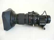 Fujinon A8.5x5.5BEVM-28 wide angle ENG lens with extender, Canon broadcast, BCTV