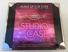 Makeup Forever STUDIO CASE 12 Eyeshadow Palette & Full Size Liner ~ New Unboxed