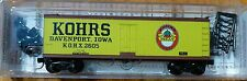 Micro-Trains Line #49110 Rd #2605 40' Double-Sheathed Wood Reefer -- Kohrs Meat