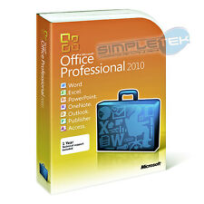 Licenza originale box Office 2010 Professional 32/64bit retail nuova fatturabile