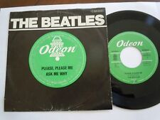 "BEATLES  Please Please Me  7""  ODEON  Single 1963 GERMANY rare"