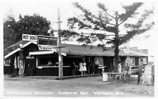 Photo. ca 1931. Saanich, BC Canada. McMorran's Pavilion, Cordova Bay