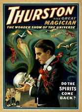 Thurston 4 A4 Photo Print Magic Magician Vintage