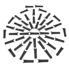 Plastic Cutting Blades x 50 Fits Flymo Mow n Vac 28 FL246 FLY014
