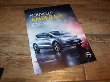 Catalogue /  Brochure OPEL Ampera-E 2016 //