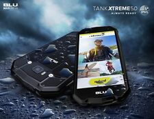BLU Tank Xtreme 5.0 T490Q Water & Shock Resistant Android 6.0 Unlocked GSM Phone